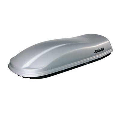 Bagagebox 400 liter MARLIN N8 zilver hoogglans