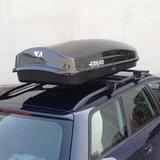 Bagagebox 400 liter ZEUS N15 zwart hoogglans_