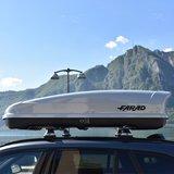 Bagagebox 480 liter KORAL N20 190x80x40cm Grijs_