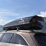 Bagagebox 480 liter KORAL N20 190x80x40cm Zwart Glans_
