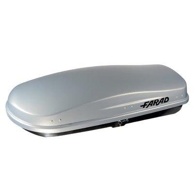Bagagebox 400 liter ZEUS N15 grijs
