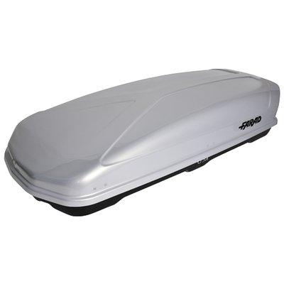 Bagagebox 400 liter KORAL N19 160x80x40cm Zilver